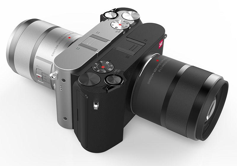 новые китайские фотокамеры яркое оформление
