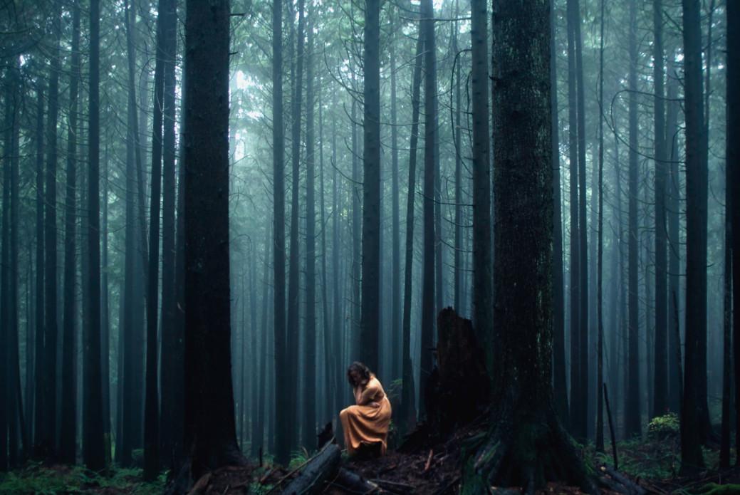 Галереи женщин в лесу фото 95-212