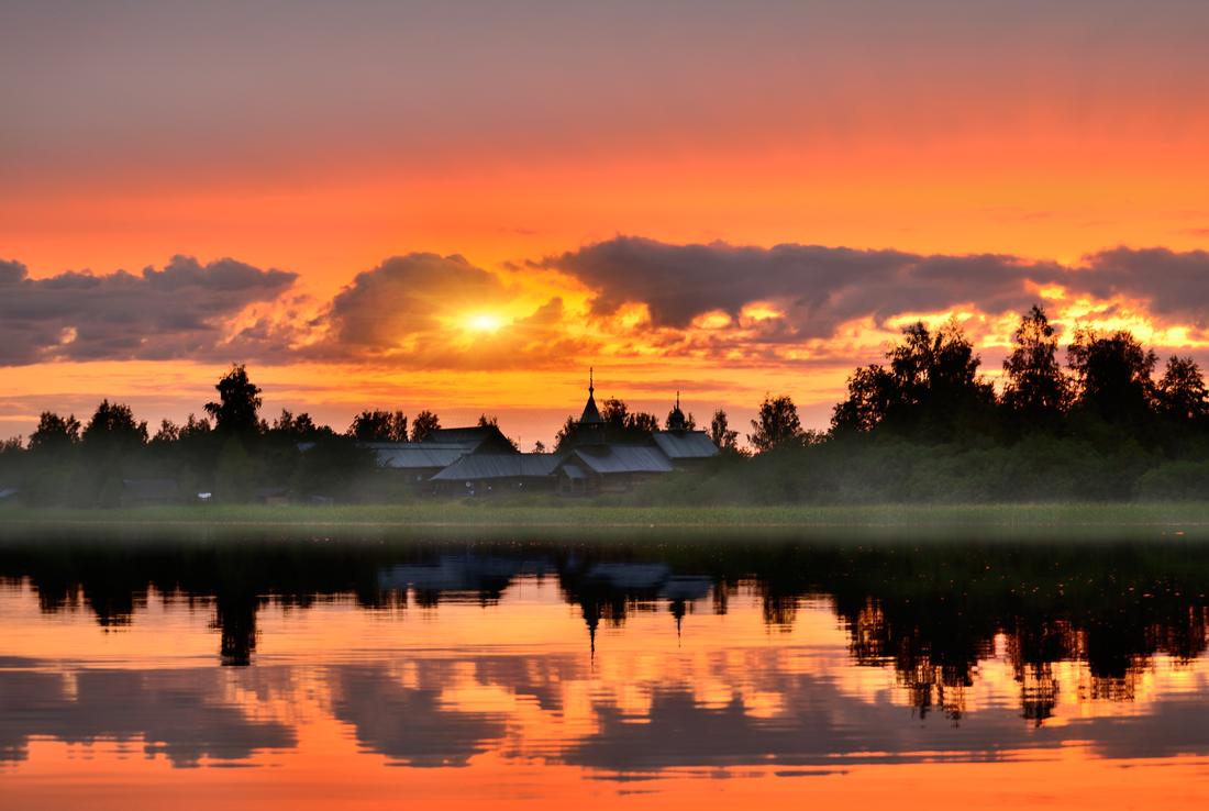картинку, набрела фото красивое природа закат города ближе всего лобной