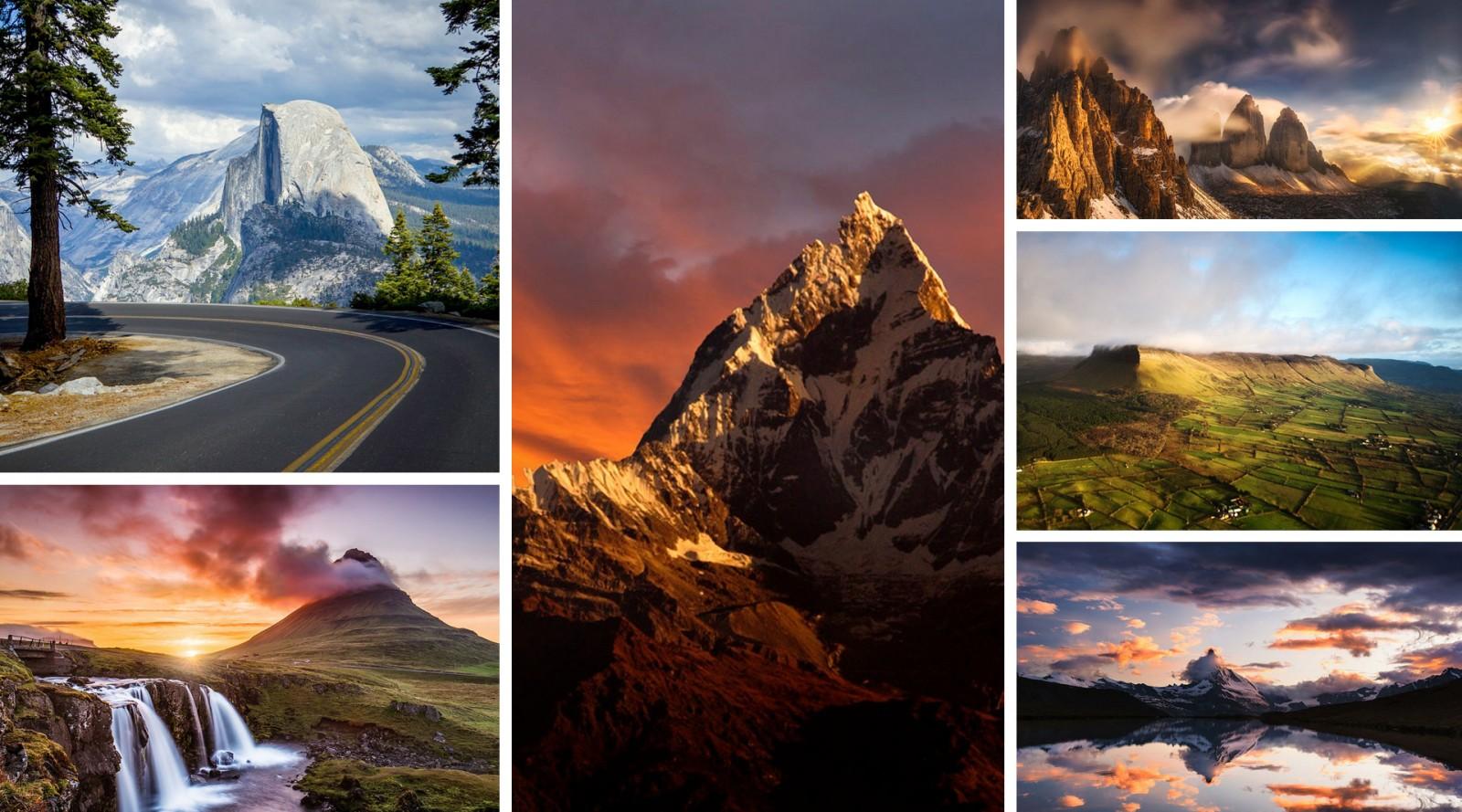 15 самых красивых гор мира