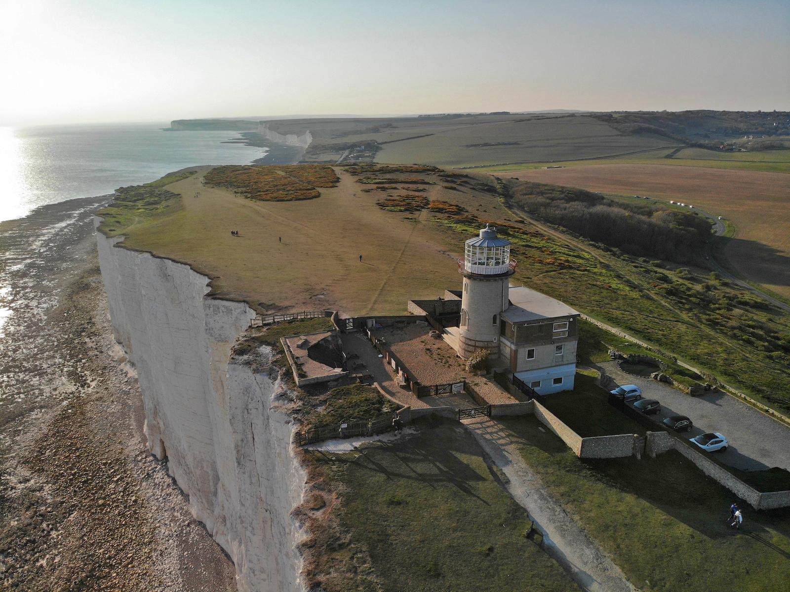 Beachy Head, маяк Belle Tout