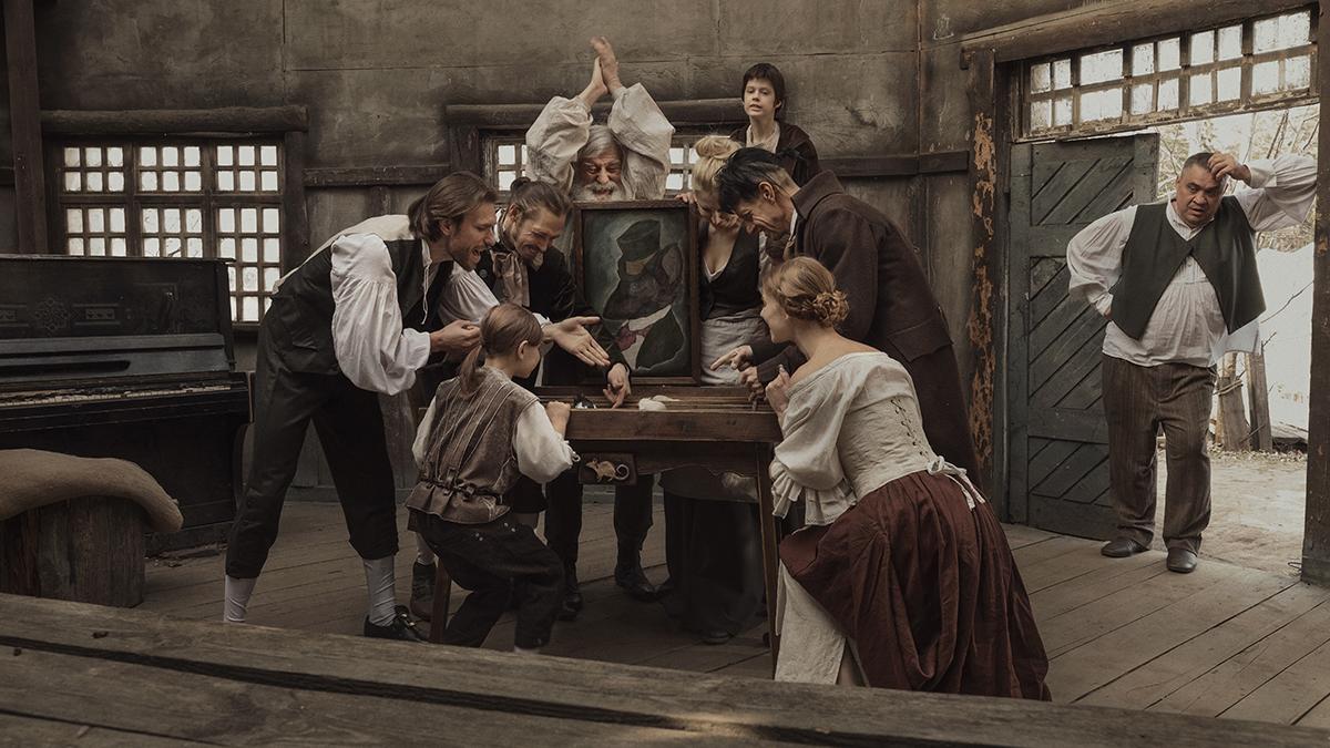 уникальная платформа, кинематографическое фото эффект незнайке