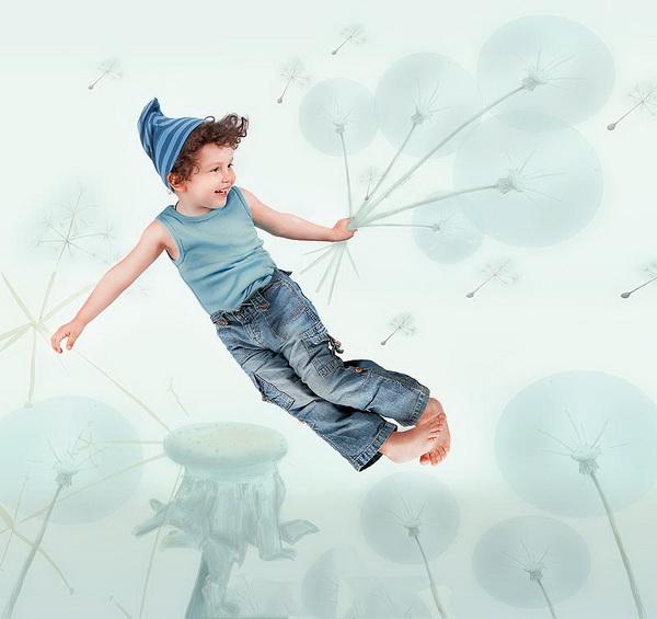 Дети летают картинки