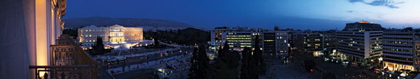 Афинские каникулы с FUJIFILM X100