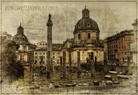 Рим. Императорский форум. Путешествие в Другой Рим. Фото Рима, фотографии сделаны аппаратом Canon EOS 40D.