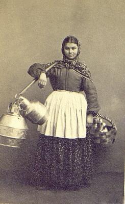 Молочница. Фото Вильяма Каррика