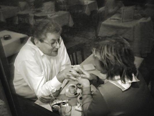 Георгий Розов. Съемка через стекло