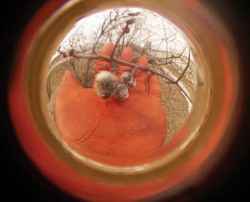 Фотографируем через дверной глазок