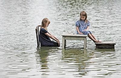 «На воде» Фото: Сергей Горьковой (Сергей Лойе)