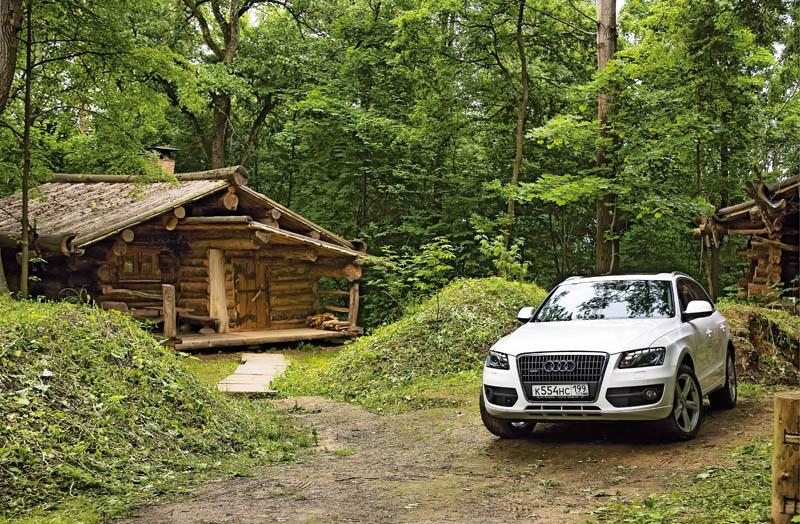 Выходные в Звенигороде, или Как мы на Audi Q5 тайгу осваивали