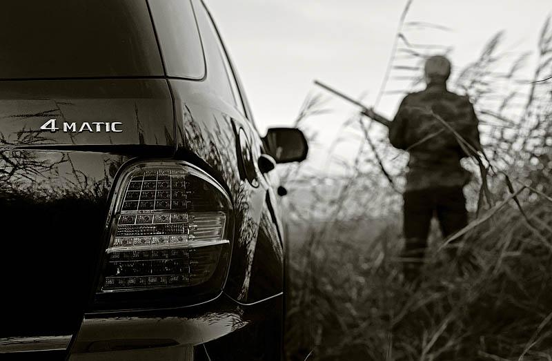 Открываем сезон охоты вместе с Mercedes-Benz ML 300 CDI