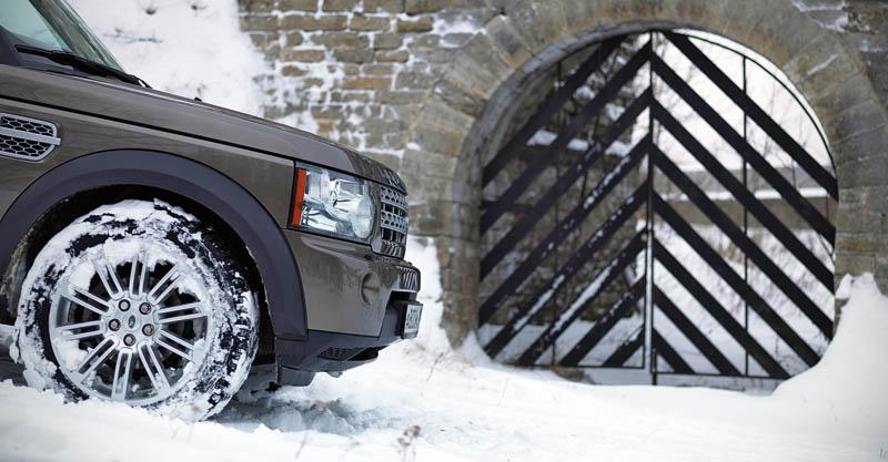 Открываем северные крепости на Land Rover Discovery 4 - описание и характеристики автомобиля.