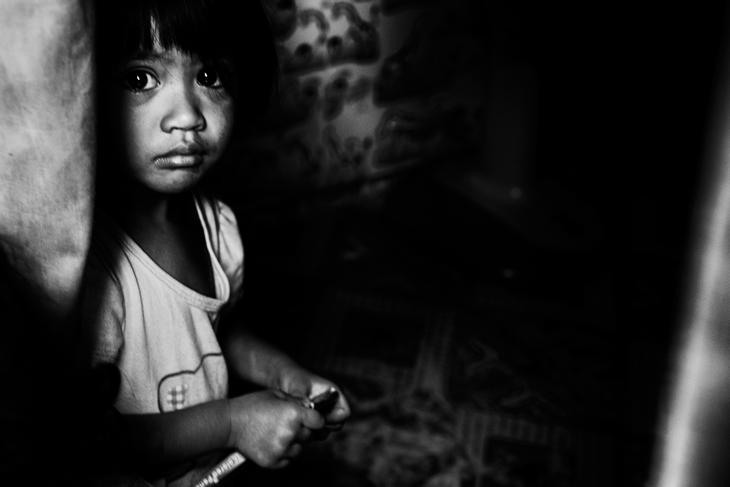Ребенок. Фото Лауры Сафиотти