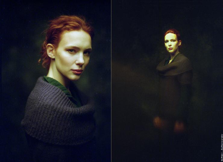 Портрет, снятый на пленку. Автор: Сергей Сараханов