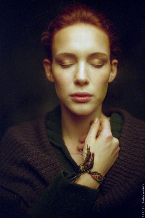 Женский портрет. Фото Сергея Сараханова