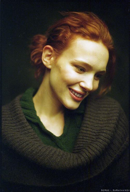 Портрет девушки. Фото Сергея Сараханова