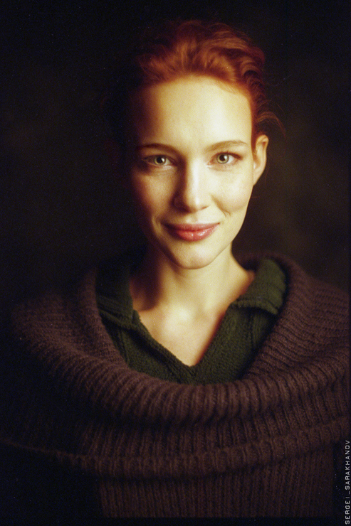 Портретная фотография Сергея Сараханова
