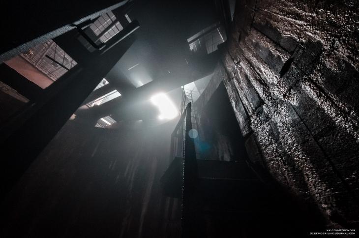Выход из шахты