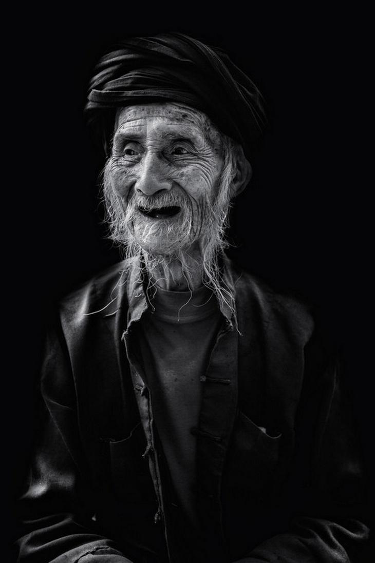 Портрет 100-летнего человека