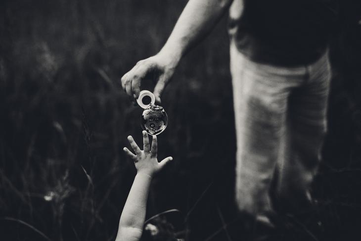 Мыльный пузырь. Семейная фотография Наталии Федоровой