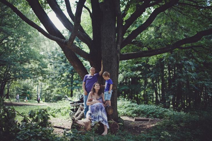 Семейный портрет. Детский фотограф Наталия Федорова