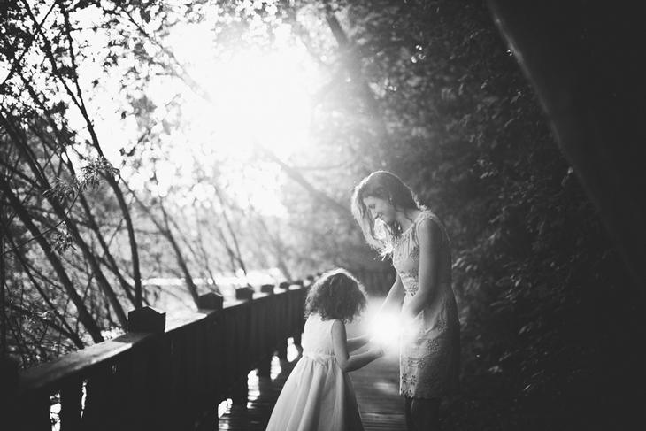 Мама с дочерью. Детская фотография Наталии Федоровой