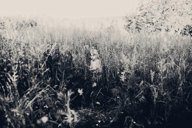 Ребенок на природе. Детская фотография Наталии Федоровой