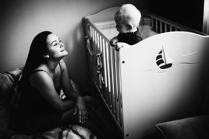 Мама и малыш. Семейная фотография Наталии Федоровой