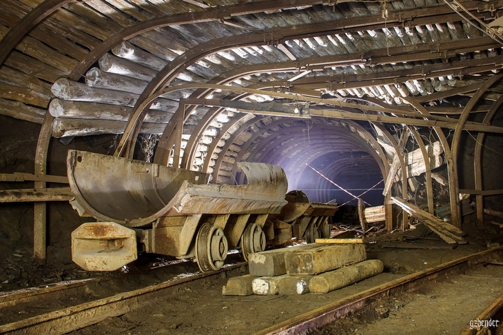 Рабочая часть шахты