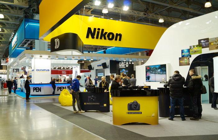 Стенд компании Nikon на Фотофоруме-2013