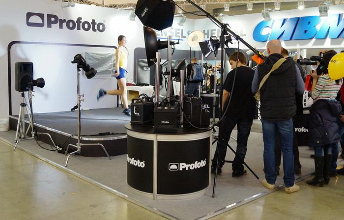 Стенд компании Profoto на Фотофоруме-2013