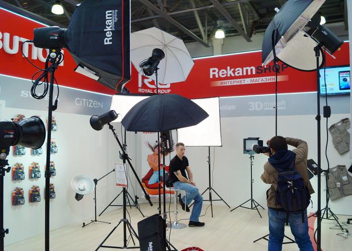 Стенд компании Rekam на Фотофоруме-2013