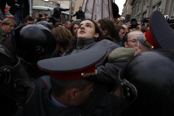 Гражданский протест и митинг 2012 в фото.