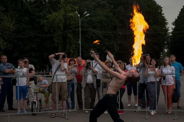 Фаер-шоу, день фотографа 2012, фотофестиваль, развлечения