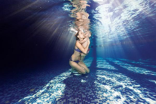 Оксана Супрун, съемка под водой, фото под водой, фотограф