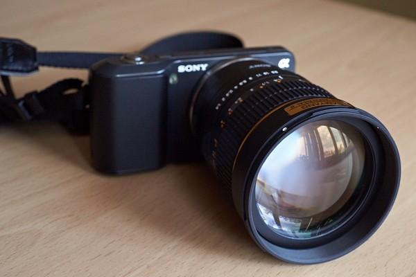 Samyang 85 mm f/1.4 на <a href=