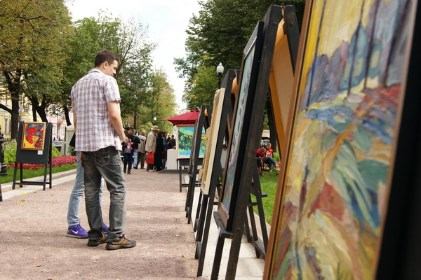 """В столице прошел фестиваль под названием """"Бульвар искусств"""""""