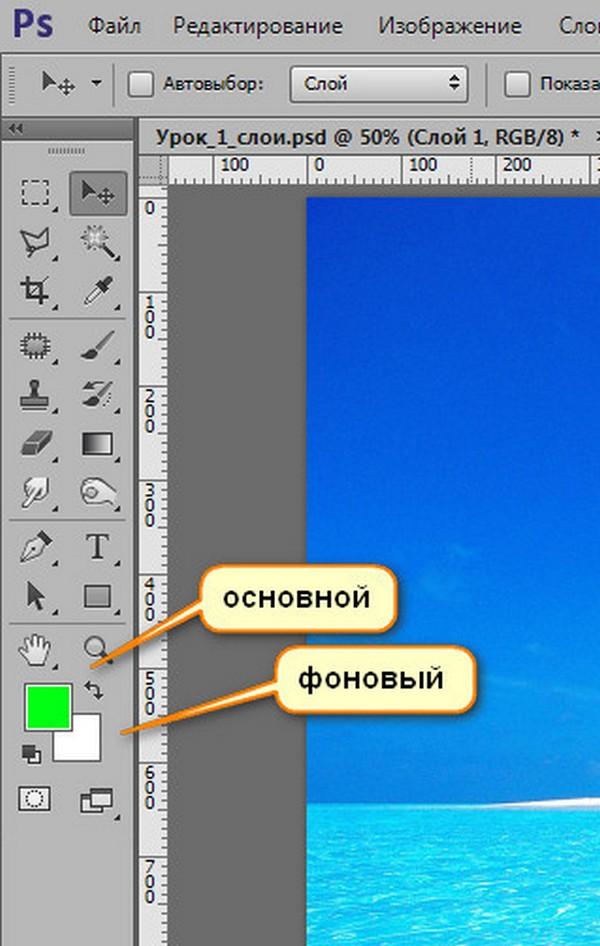 Урок 1. Слои в Photoshop.
