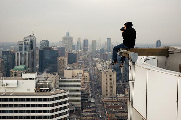 фото с крыши, Том Рябой