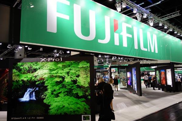 Photokina 2012: Fujifilm
