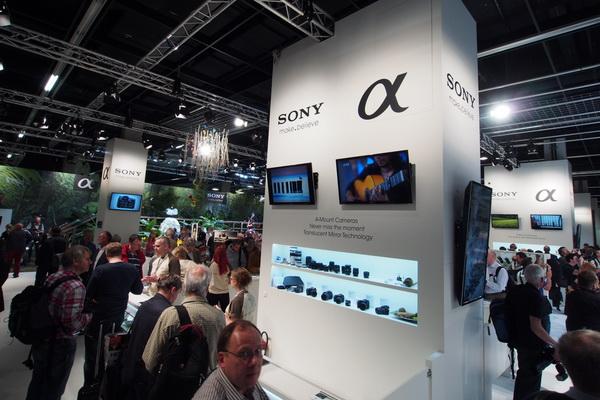 Photokina 2012: Sony