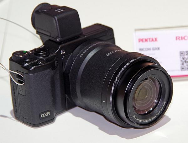 Photokina 2012: Ricoh GXR