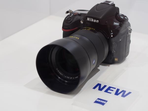 Photokina 2012: объектив Carl Zeiss Distagon 1.4/55mm