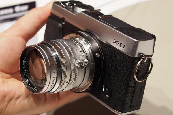 Photokina 2012: Fujifilm X-E1