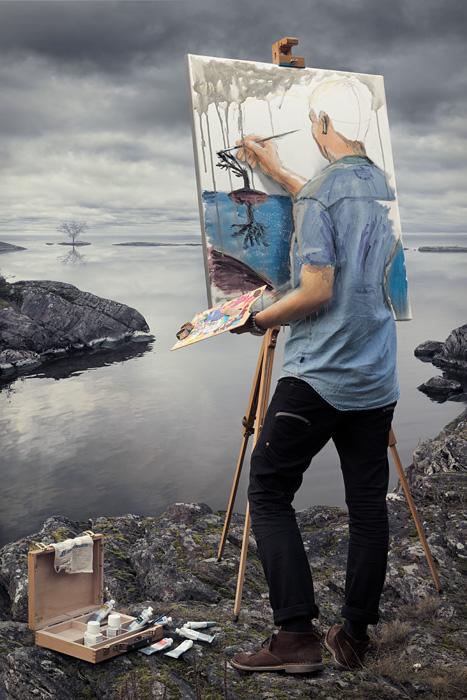 Эрик Йоханссон, мастер фотоманипуляций эрик йоханссон, иллюзии от эрика йоханссона, Фотохудожник