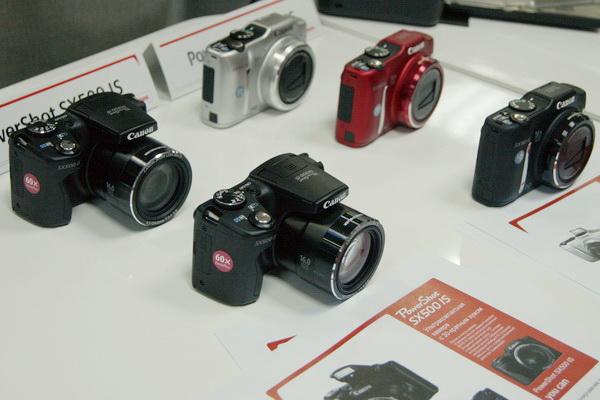 Canon, презентация, принтеры, камеры, PowerShot SX50 HS, EOS 6D