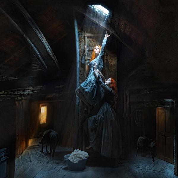 немецкий фотограф, Кристиан Вайс, мистическая фотография