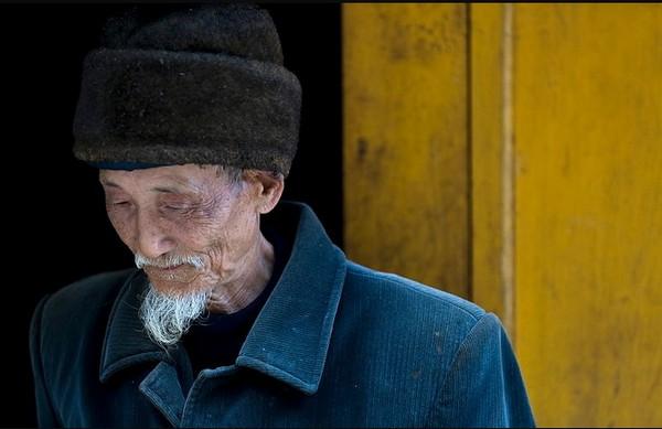 Кадрирование, Майкл Фриман, британский фотограф