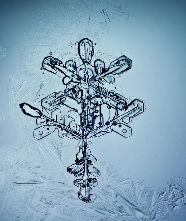 Сергей Кичигин, фотограф, фотографии снежинок