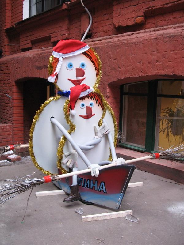 Фестиваль снеговиков на Красном октябре